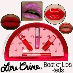 LE Lime Crime Best of Lips - Classic Reds